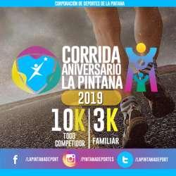 CORRIDA ANIVERSARIO 35° DE LA PINTANA
