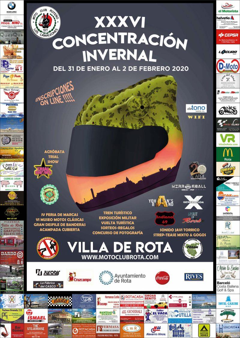 XXXVI CONCENTRACIÓN INVERNAL VILLA DE ROTA