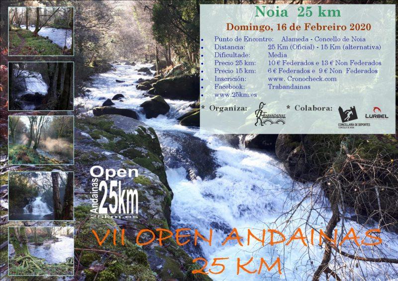 Open Andainas Regularidade - Noia 25 km + Noia 15 km