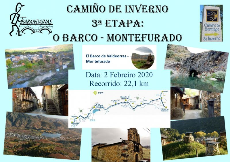 3ª Etapa Camiño de Inverno: O Barco de Valdeorras - Montefurado
