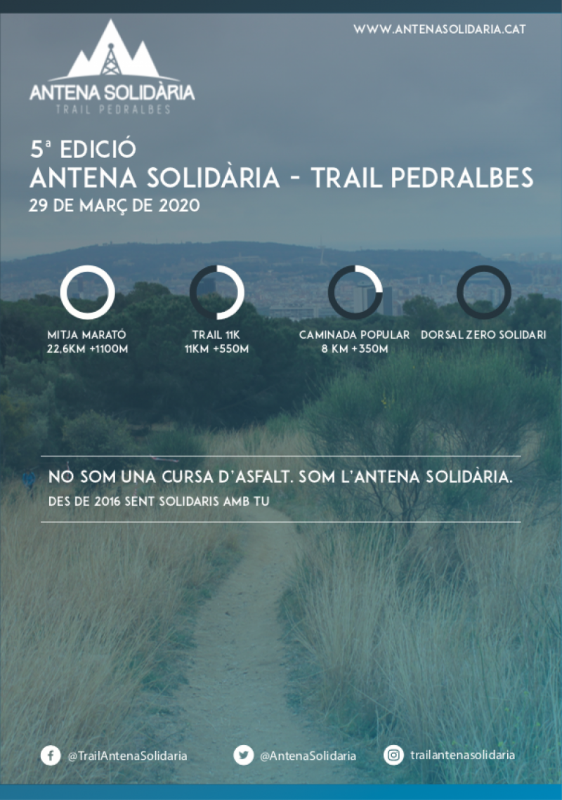 Antena Solidària 2020 - Trail Pedralbes