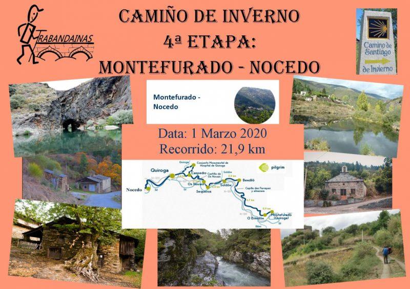 4ª Etapa Camiño de Inverno: Montefurado - Nocedo