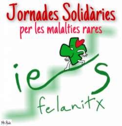 Jornadas Solidarias IES Felanitx por las Enfermedades Raras.