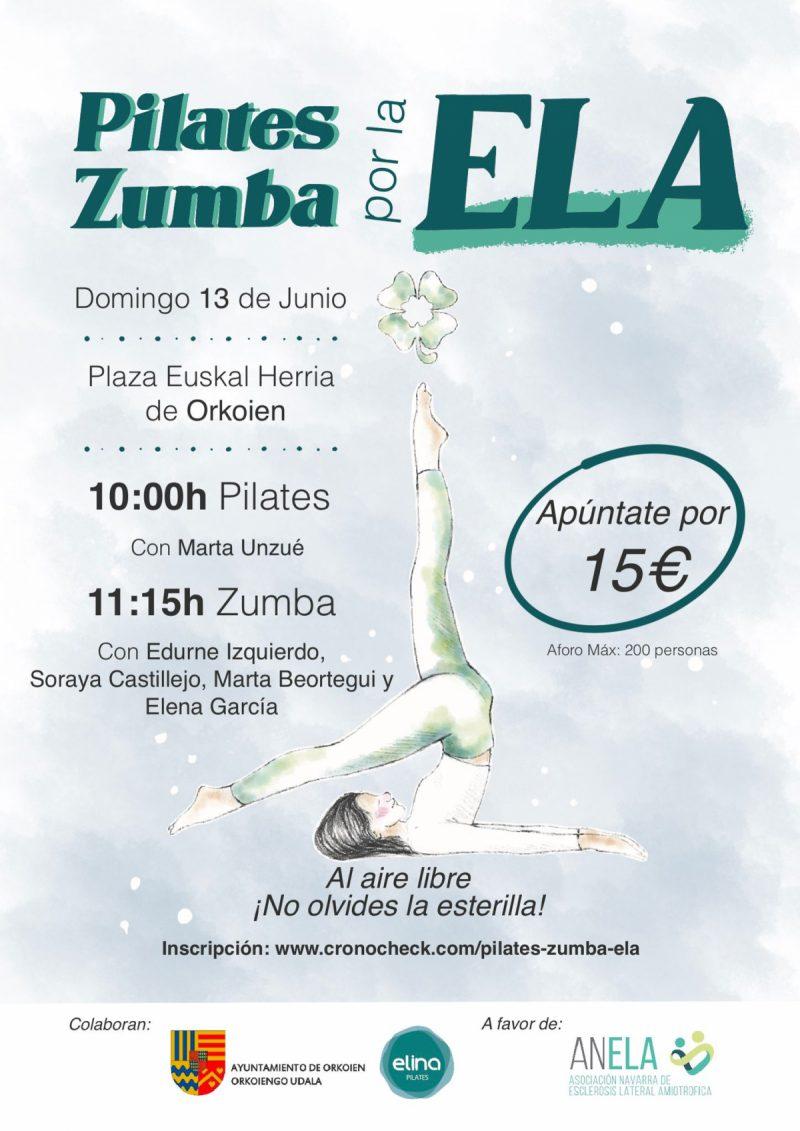 Pilates & Zumba por la ELA