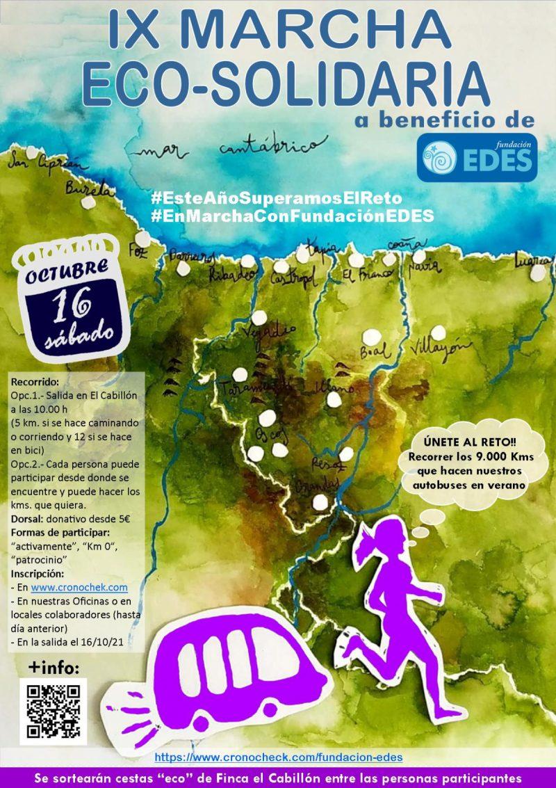 Marcha Eco Solidaria de Fundación EDES 2021