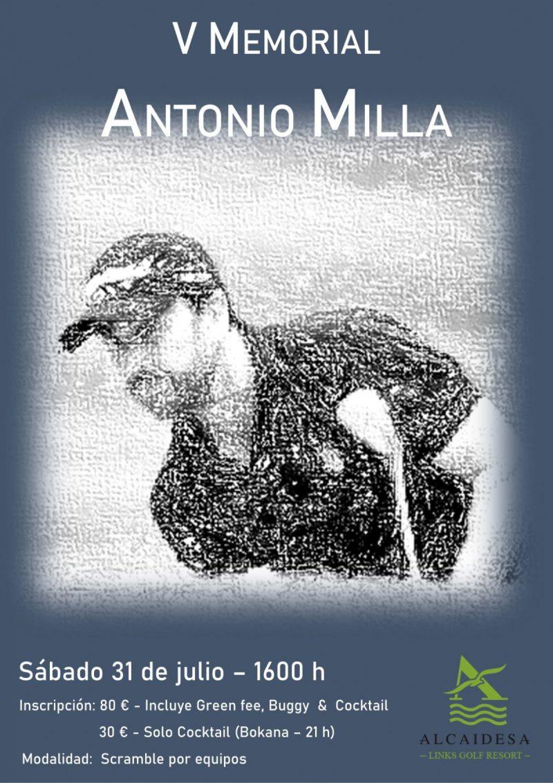 V MEMORIAL ANTONIO MILLA
