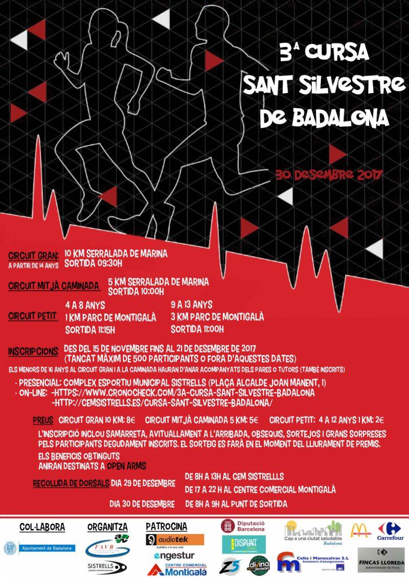 3a Cursa SANT SILVESTRE BADALONA