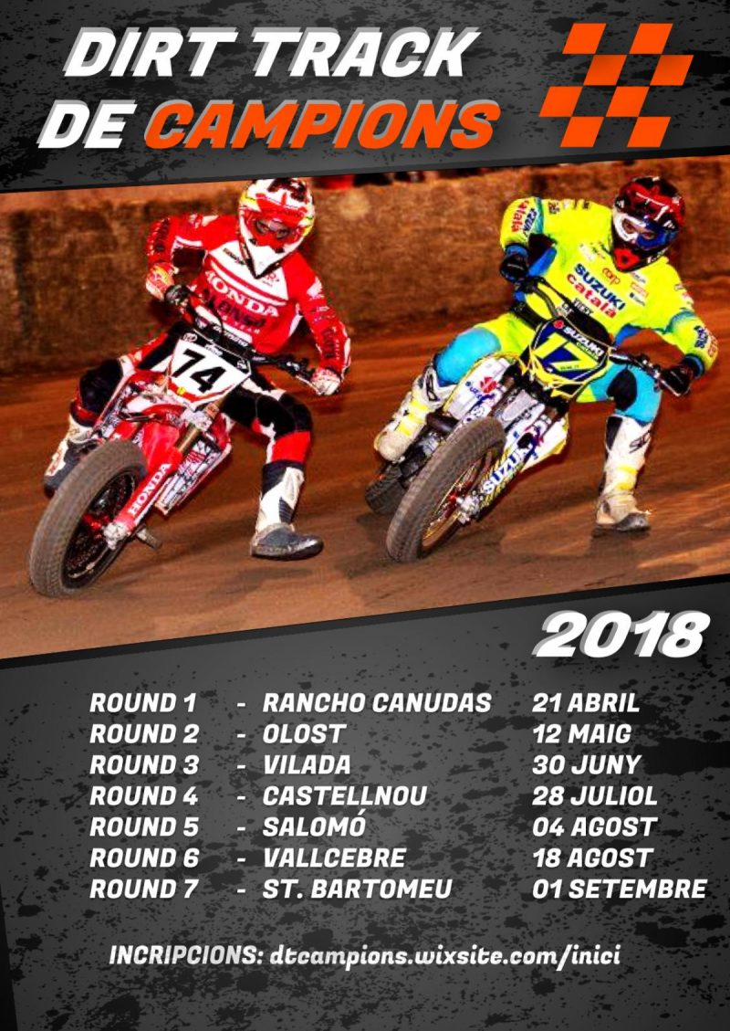 Dirt Track de Campions - Round 3 - Vilada