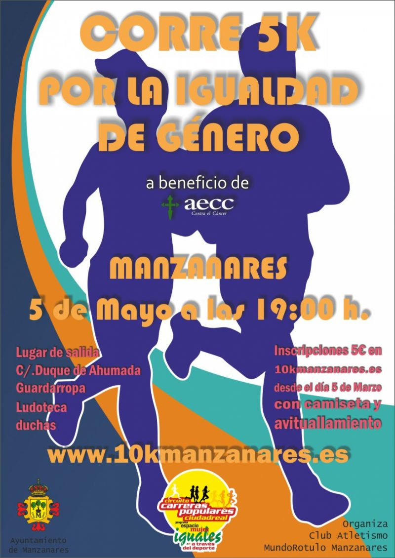 5 K Manzanares Contra El Cancer