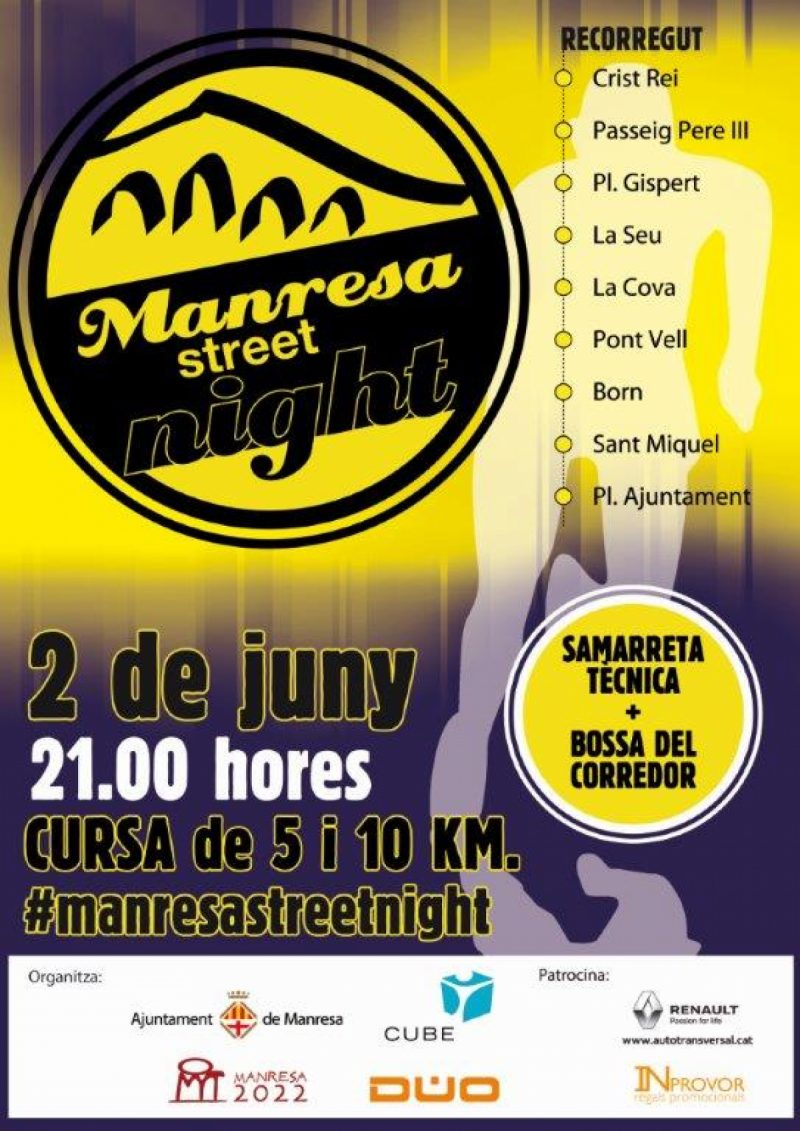 Manresa Street Night 2018