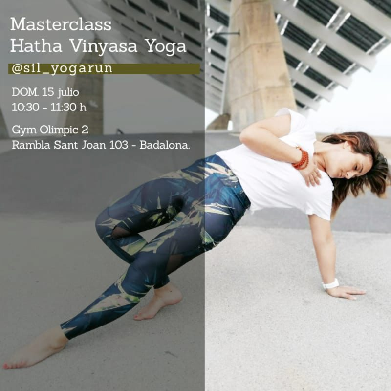 Masterclass Hatha Vinyasa Yoga con sil_yogarun