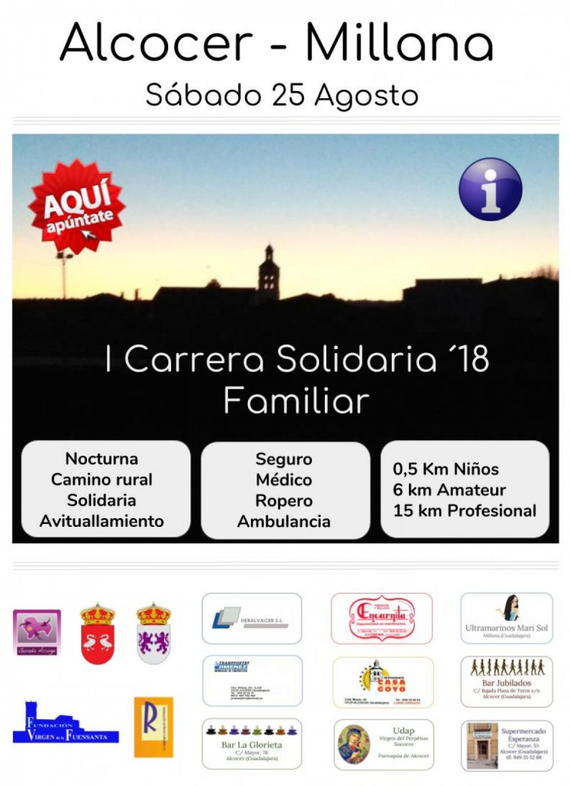 Carrera solidaria Alcocer-Millana