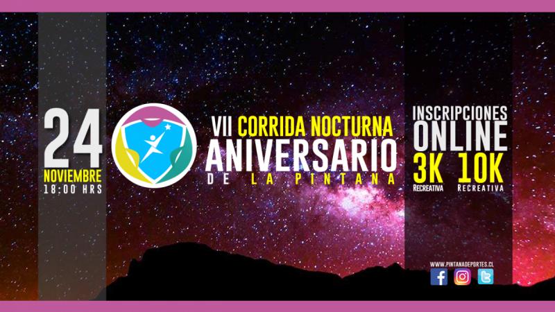 VII Corrida Aniversario La Pintana 2018